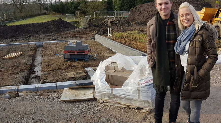 Off-plan home buyers happy with build progress in Addingham