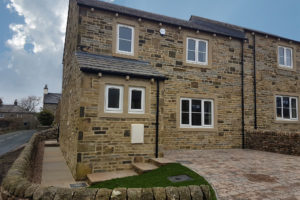Plot 1 at Beautry Croft, Rathmell is completed
