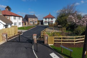 Orchard Fields is a gated development of six highly specified homes by St Robert's Homes